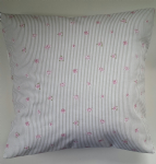 "Cushion Cover in Sophie Allport Rose Stripe 14"" 16"" 18"" 20"""